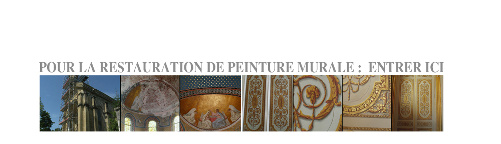 restauration de peinture murale fresque paris. Black Bedroom Furniture Sets. Home Design Ideas